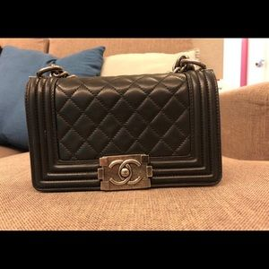 Chanel Classic boy small mini flap bag crossbody